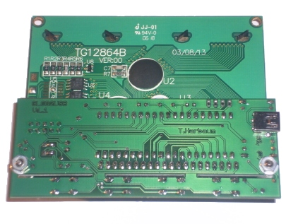 GLCD2USB - graphic LCD to USB converter